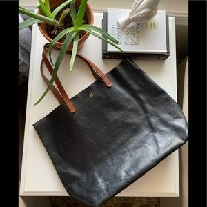 Madewell Leather Tote 😍 Black and Brown